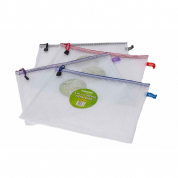 Supreme Stationery Clear Mesh Bag A4++ Extra Strong